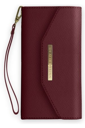 Ideal of sweden Mayfair Clutch iPhone XS Max Burgundy