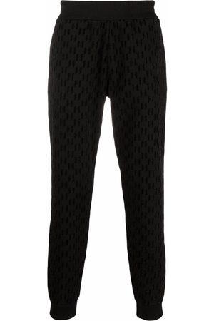 Karl Lagerfeld Joggebukser - Monogram-pattern track pants