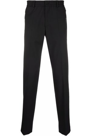 Karl Lagerfeld Clash pressed-crease trousers
