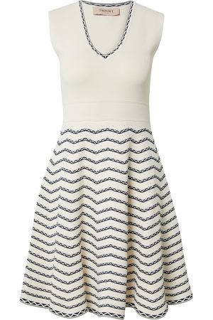 Twinset Dame Strikkede kjoler - Strikkekjole