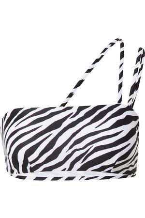 NA-KD Bikinitopp 'Zebra