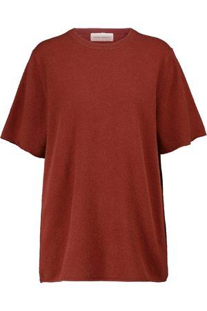 EXTREME CASHMERE N°64 cashmere-blend T-shirt