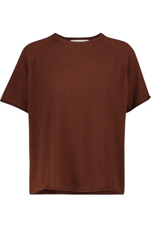 EXTREME CASHMERE N° 177 Todd cashmere-blend T-shirt