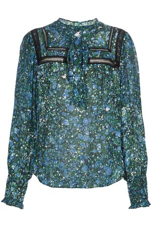 VERONICA BEARD Dame Bluser - Candita printed chiffon blouse