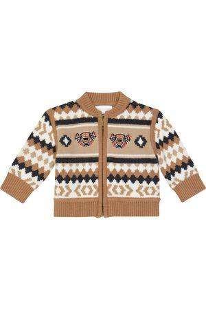 Burberry Baby wool-blend cardigan