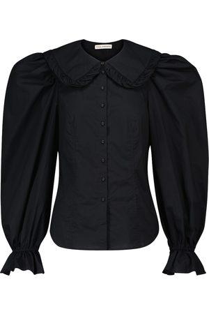 ULLA JOHNSON Marietta cotton poplin blouse