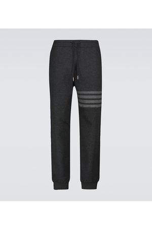 Thom Browne 4-Bar waffle cotton sweatpants