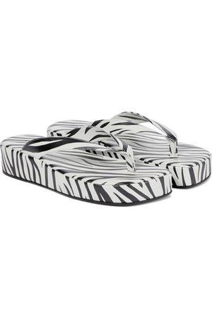Amina Muaddi Dame Platåsandaler - Johana flatform sandals
