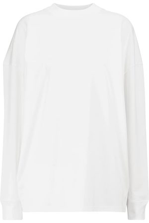 The Row Dame Langermede - Dolonas cotton top