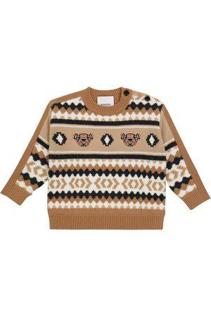 Burberry Baby Strikkegensere - Baby wool-blend sweater