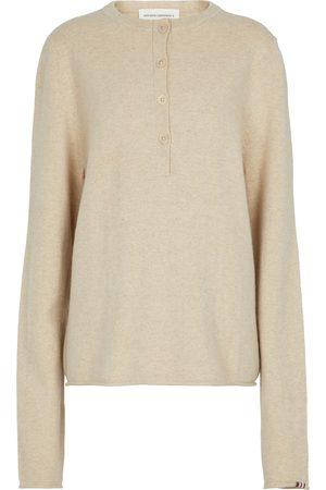 EXTREME CASHMERE Dame Strikkegensere - N°183 Be loved cashmere-blend sweater
