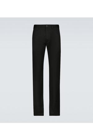 Saint Laurent Chinos - Stretch-cotton gabardine chino pants