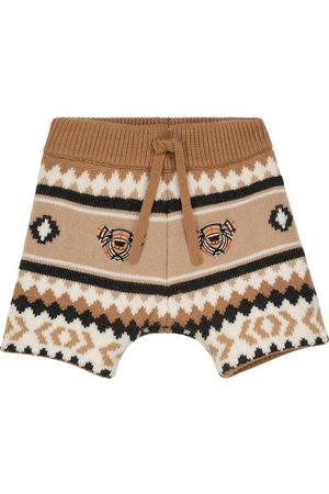 Burberry Baby wool-blend shorts