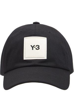 Y-3 Logo Cotton Cap