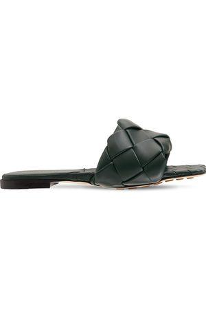 Bottega Veneta Dame Loafers - 10mm Lido Leather Slide Flats