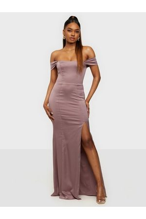 NLY Call Me Off Shoulder Gown