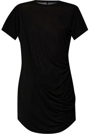Rick Owens Dame Kortermede - Draped T-shirt
