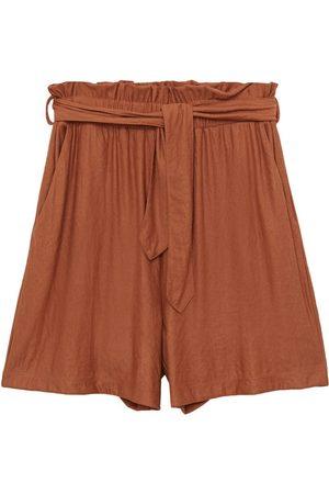 MANGO Dame Bukser - Plissert bukse 'DIAMANTE