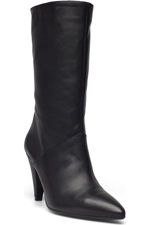 GOLD Dame Skoletter - 25301 Shoes Boots Ankle Boots Ankle Boot - Heel