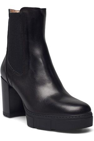 unisa Dame Skoletter - Kubel_f21_vu Shoes Boots Ankle Boots Ankle Boot - Heel