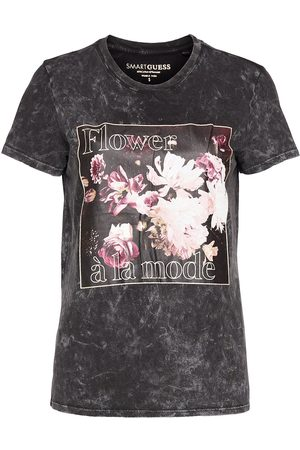 Guess Flower Alamode Easy Tee T-shirts & Tops Short-sleeved