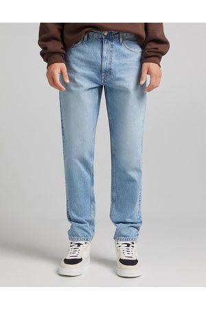 Bershka Herre Straight - Straight leg jeans in light blue