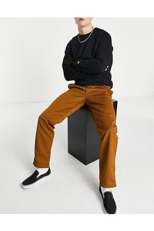 Carhartt Herre Chinos - Master relaxed taper chinos in brown