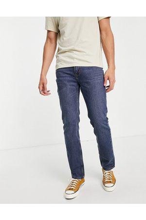 Levi's Herre Skinny - Levi's Skateboarding 511 slim fit jeans in bush dark vintage wash-Blue