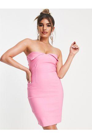 Vesper Dame Selskapskjoler - Mini dress in bright pink