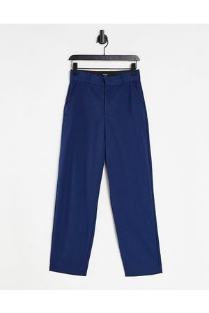 Bando Rudie co-ord relaxed tapered oversized trousers-Blue