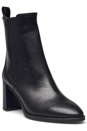 unisa Dame Skoletter - Ufron_sco Shoes Boots Ankle Boots Ankle Boot - Heel