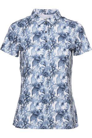PUMA Dame Kortermede - W Cloudspun Tropical Polo T-shirts & Tops Polos Rosa