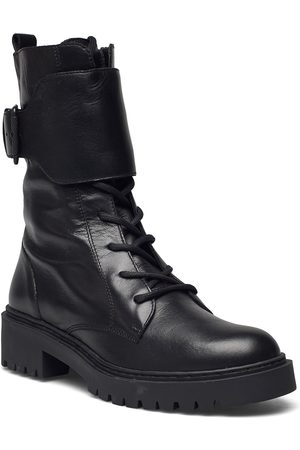 unisa Gressysin_nf Shoes Boots Ankle Boots Ankle Boot - Flat