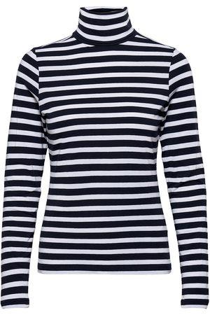 Numph Nudaia Rollneck Noos T-shirts & Tops Long-sleeved Svart