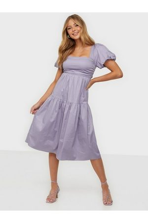NLY Dame Festkjoler - Oh My Ruched Dress