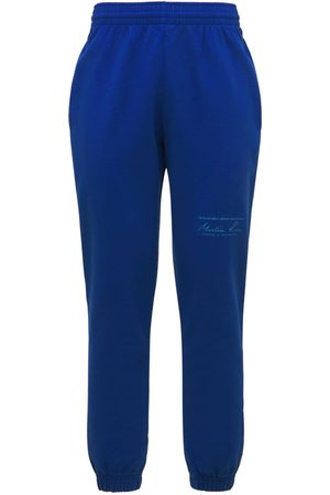 MARTINE ROSE Cotton Jersey Slim Sweatpants