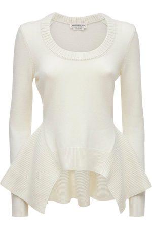 Alexander McQueen Dame Strikkegensere - Cashmere Knit Sweater