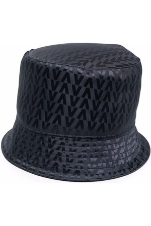 VALENTINO Herre Hatter - Logo-print bucket hat