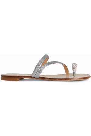 Giuseppe Zanotti Hillary Ring metallic slides