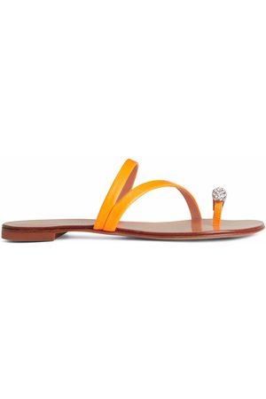 Giuseppe Zanotti Dame Flip flops - Hillary Ring slides