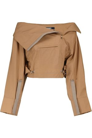 Jacquemus Le Haut Nueva cotton-blend top
