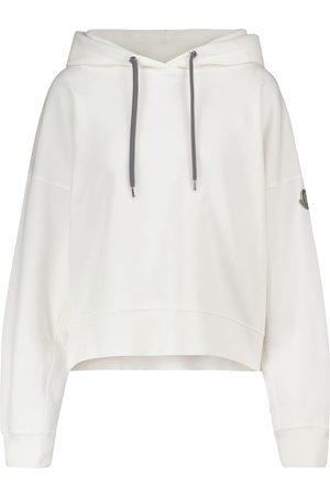 Moncler Dame Hettegensere - Cotton-blend hoodie