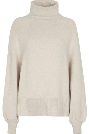 Deveaux New York Wool and cashmere turtleneck sweater