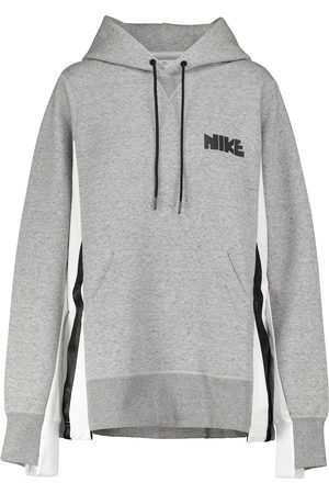 Nike Dame Hettegensere - X sacai cotton-blend hoodie