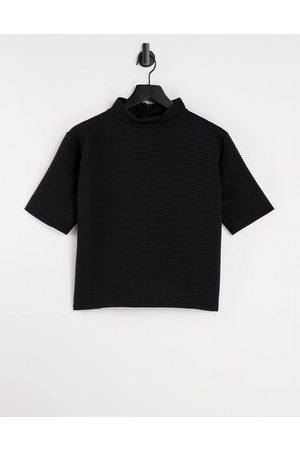 French Connection T-shirt in black