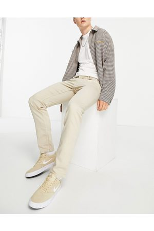 Only & Sons Slim fit jeans in stone-Neutral
