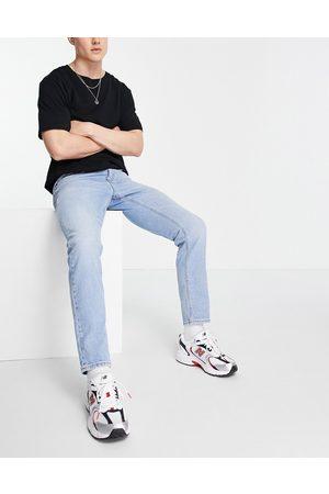 ASOS Slim jeans in vintage light wash blue