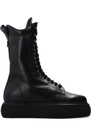 The Attico Selene platform ankle boots