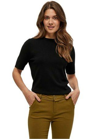 Minus Dame Kortermede - Pamela knit t-shirt