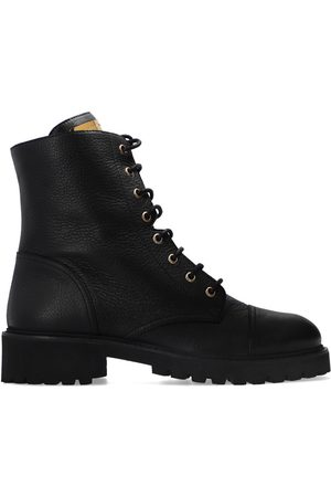 Giuseppe Zanotti Dame Skoletter - Leather combat boots